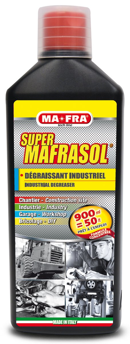 SUPERMAFRASOL – Intensive, professional multi-surface grease remover MA-FRA H0267