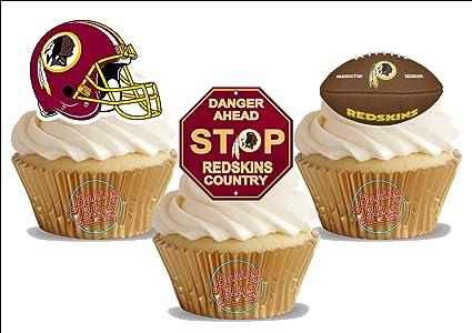 Amazoncom American Football Washington Redskins Trio Mix Fun