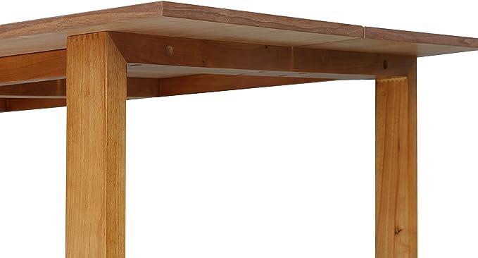 Furniture 247 - Mesa de comedor Omega, Nogal: Amazon.es: Hogar
