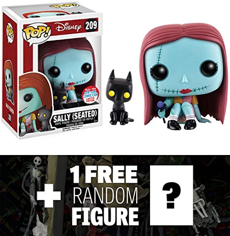 sally seated 2016 nycc exclusive funko pop tim burtons the nightmare