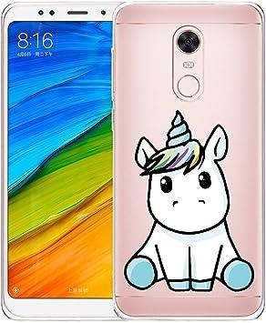Funda para Xiaomi Redmi 5 Plus , IJIA Transparente Adorable Pony ...