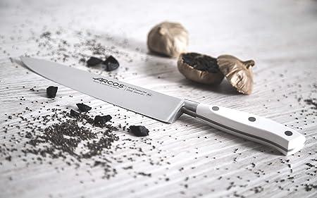 Arcos Riviera Blanc - Cuchillo de cocinero, 200 mm (estuche)