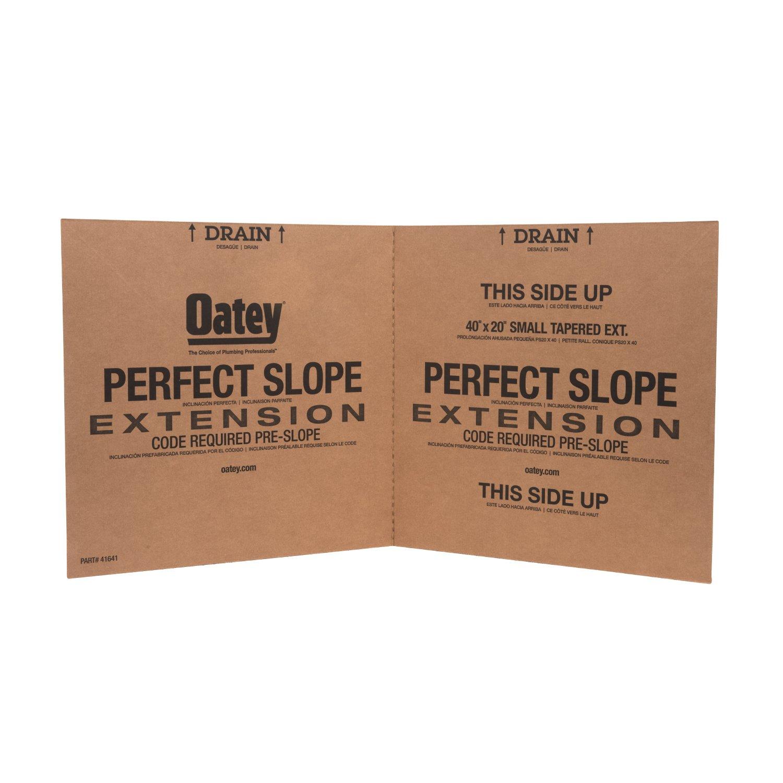 OATEY 41641 40'' x 20'' Tile Shower Pre-Slope Extension, by Oatey