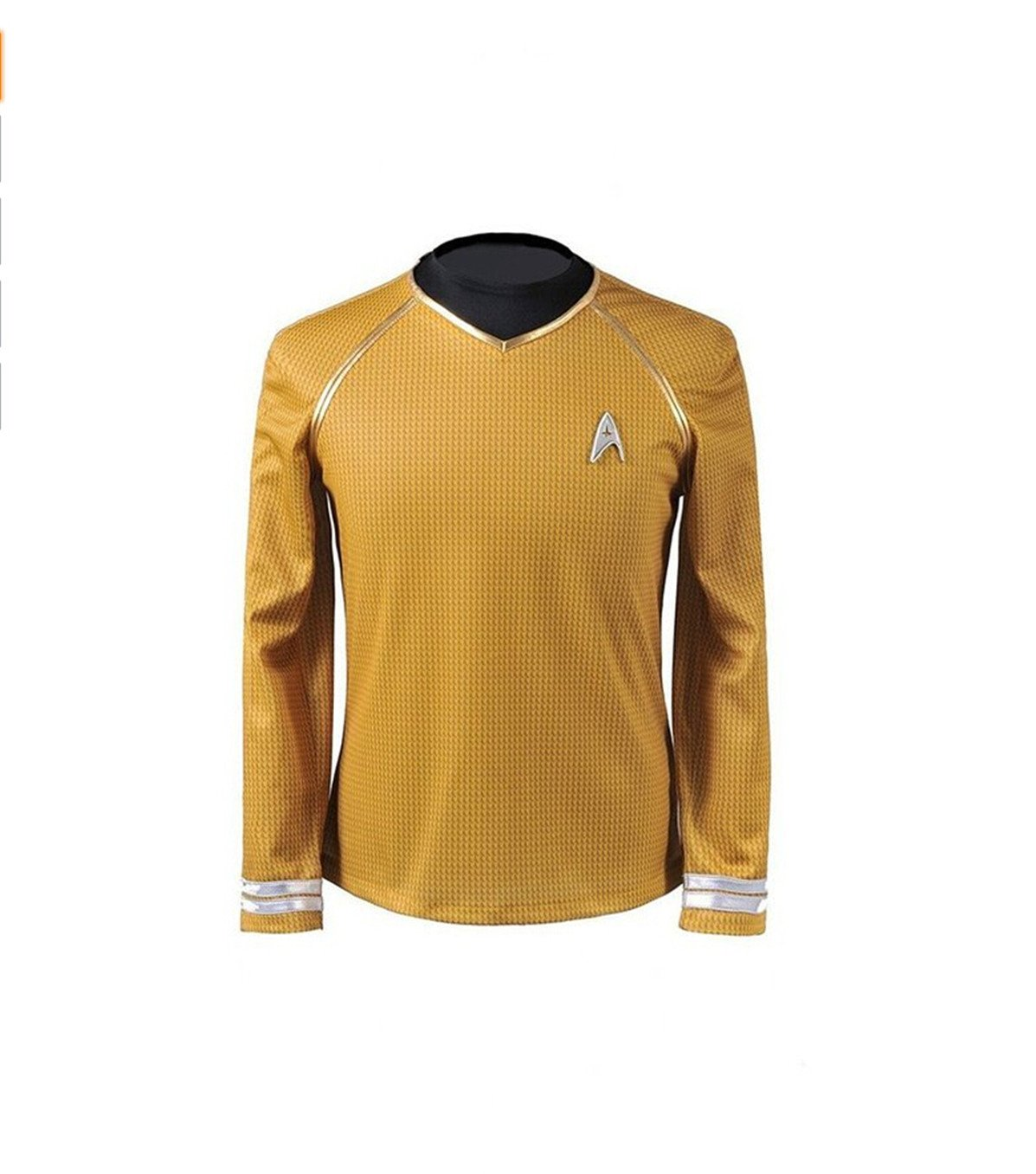 Cosparts Star Trek Into Darkness Yellow Captain Man's Cosplay T-shrit (US Size M) by Cosparts