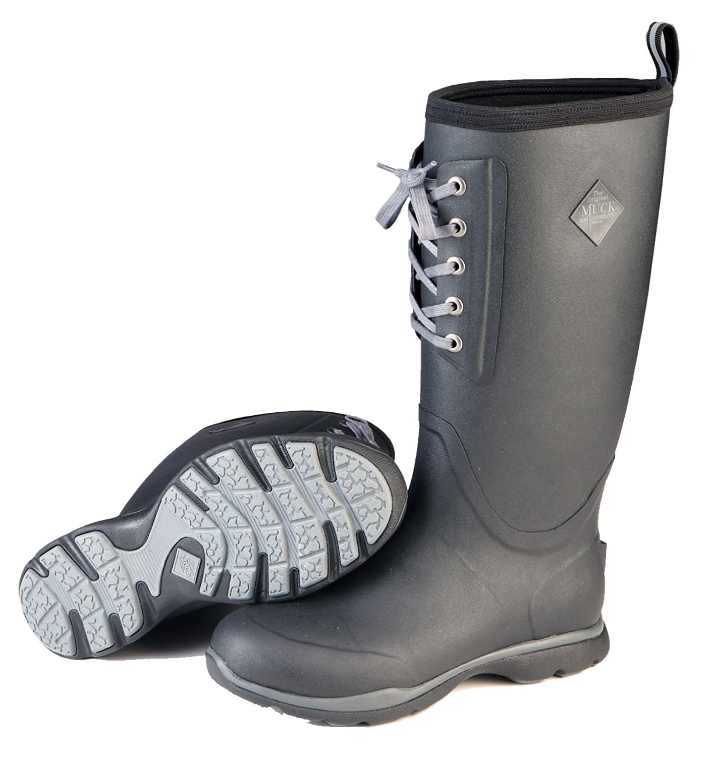 Muck Arctic Excursion Lace Tall Waterproof Insulated Rubber Boots