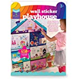 Craft-tastic Jr – Wall Sticker Playhouse – 3-Foot Tall Dreamhouse with Over 650 Reusable Stickers