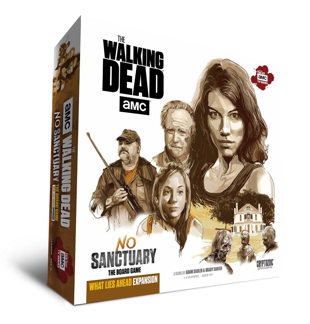 Cryptozoic Entertainment Walking Dead No Sanctuary What Lies Ahead Expansion Game Publisher Services Inc PSI CZE02097