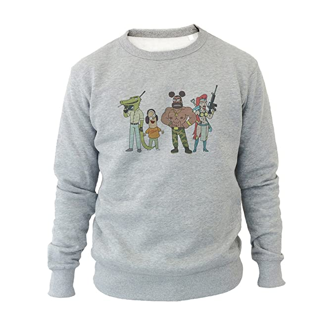 Rick And Morty Cartoon Strong XXL Unisex Sweater: Amazon.es: Ropa y accesorios