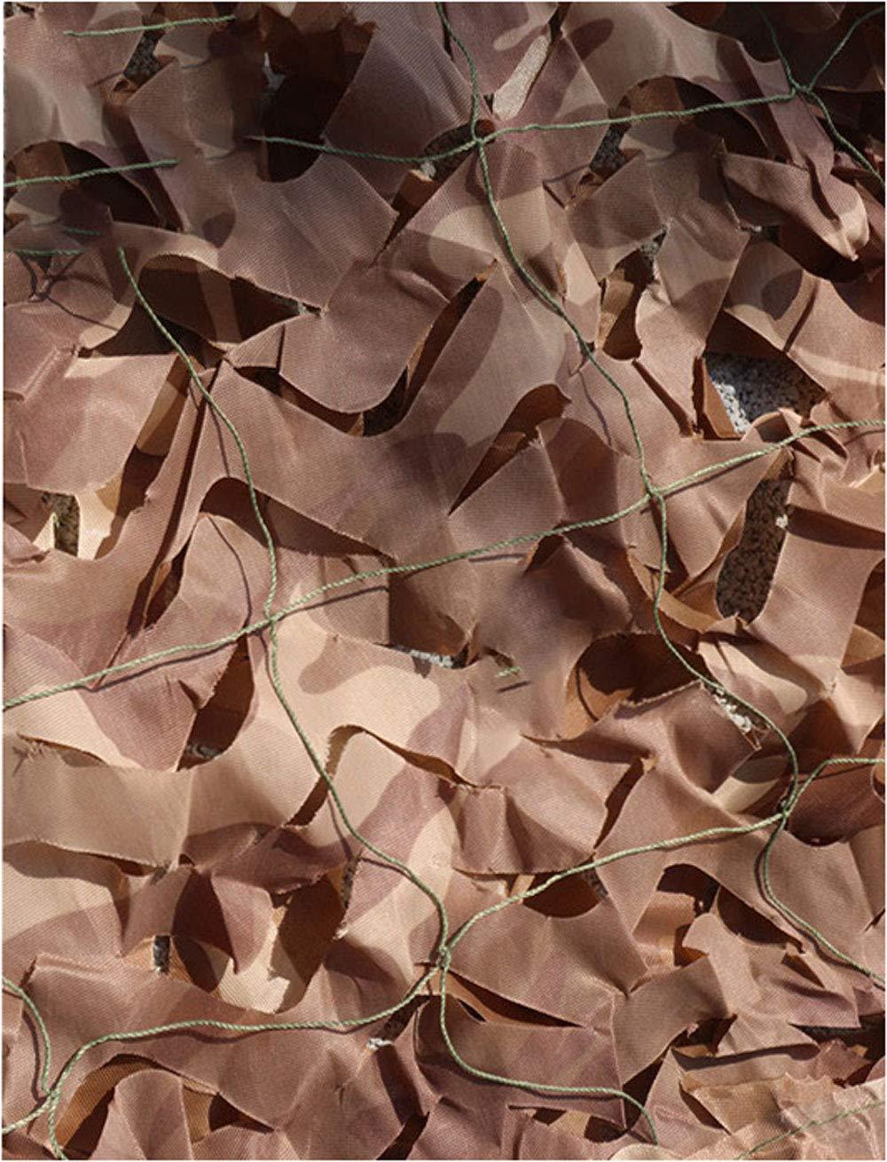 2M×3M迷彩ネット砂漠迷彩ネットキャンプ軍事狩猟射撃オックスフォード布、屋外の太陽、テーマパーティーの装飾、車のカバー迷彩 (サイズ さいず : 10m×10m) 10m×10m  B07MHNPKLQ