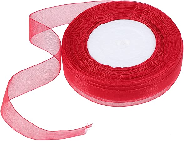 Super Rouge livraison gratuite Super Rouge Curling ruban vendu au mètre 5 mm de large