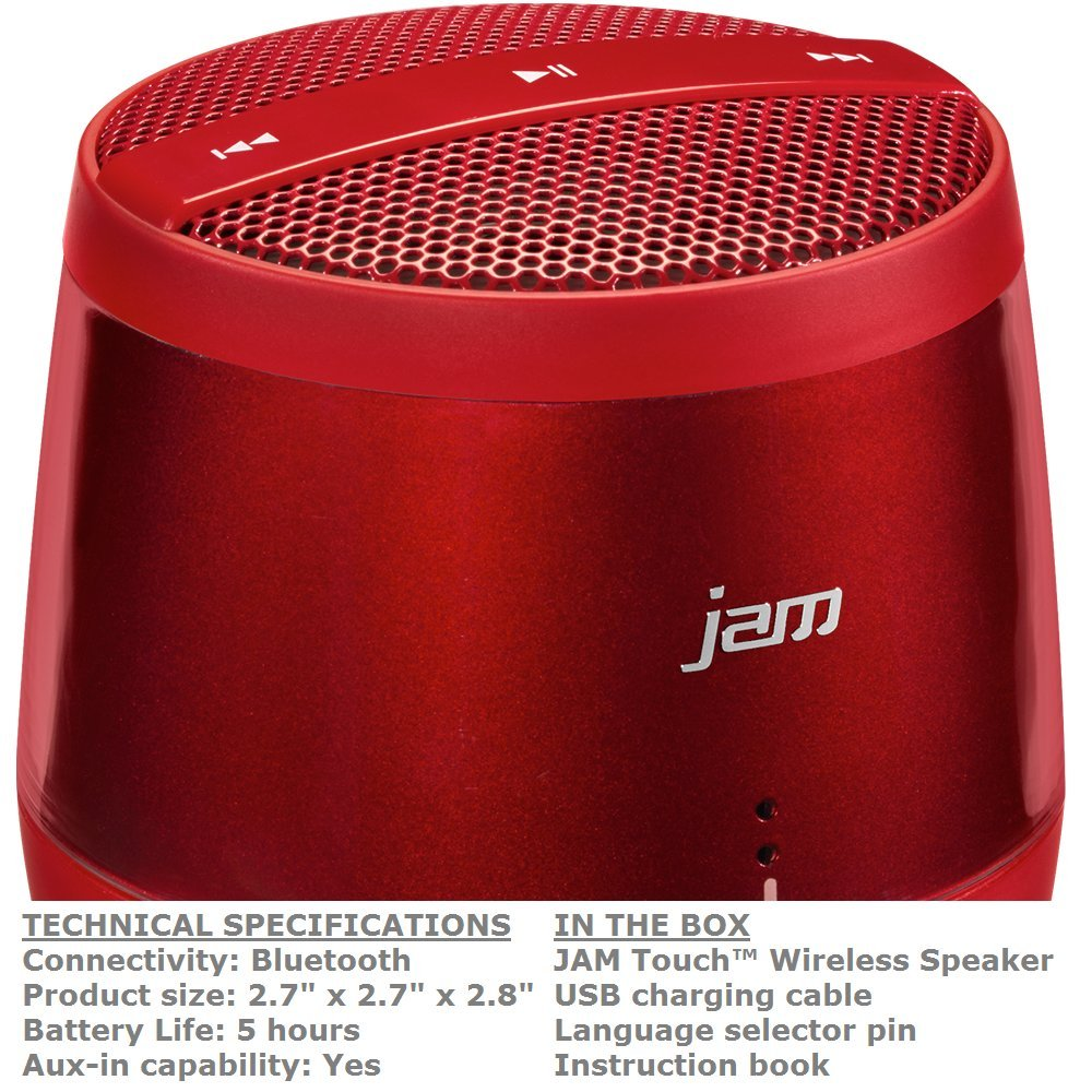 Jam Touch Wireless Speaker Instructions Wire Center