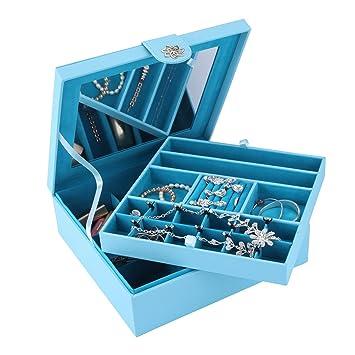 Amazoncom Smonet Jewelry Box 28 Section Jewelry Organizer with