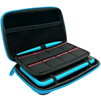 3 in 1 Case for New Nintendo 2DS XL,Carrying Case for Nintendo 2DS XL with Stylus,2 Screen Protector Film and 8 pcs Game…