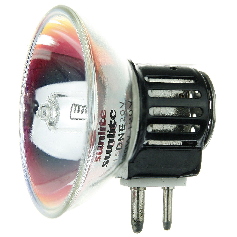 Sunlite DNE 150W/TB16/120V/CL/GX7.9 150-watt 120-volt Bi-Pin Based Stage and Studio TB16 Bulb, Clear