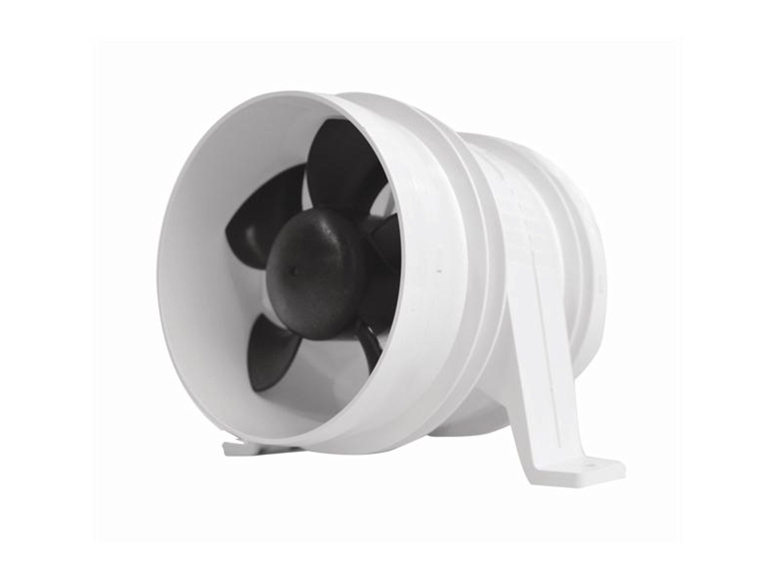Marine 4'' Electric In-line Blower for Boats & Rvs .12v .Attwood Turbo 4000