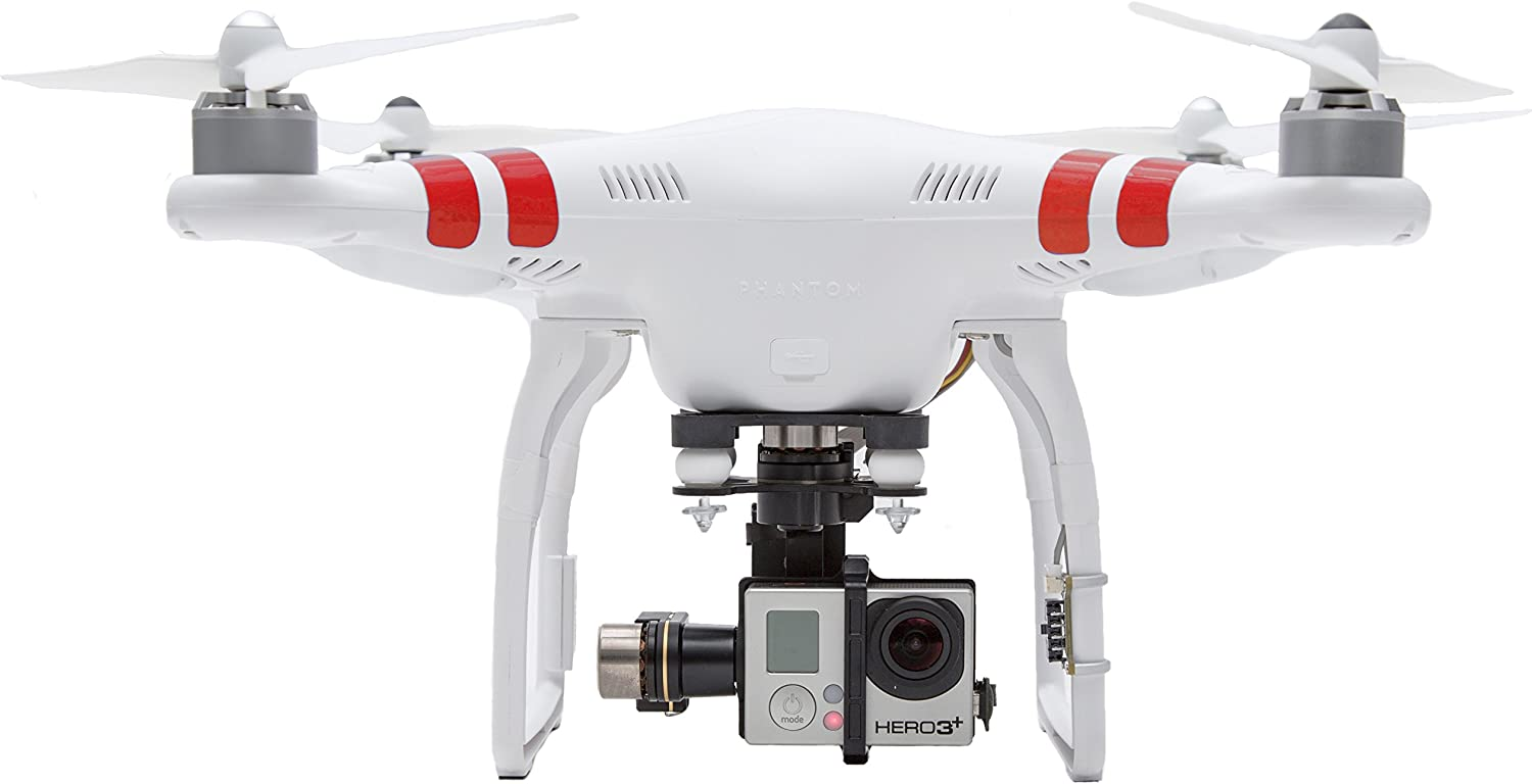 DJI Phantom 2 is at # 3 for best drones without camera.