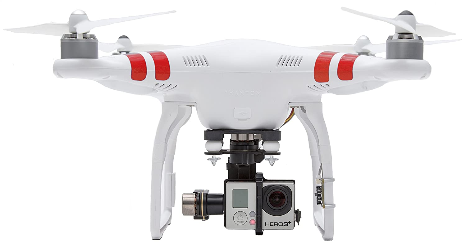 Dji Phantom 2 >> Dji Phantom 2 Quadcopter V2 0 Bundle With 3 Axis Zenmuse H3 3d Gimbal For Gopro