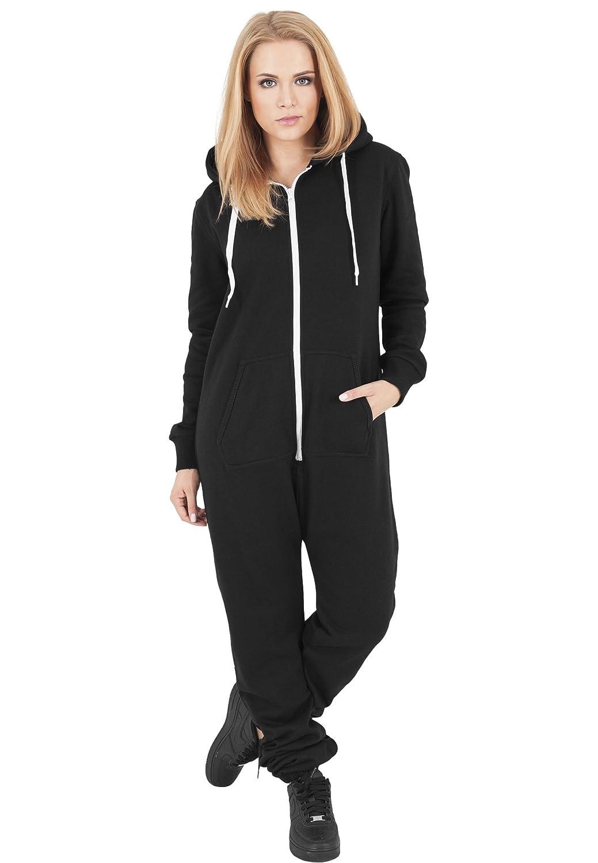 Urban Classics tb1077 Ladies Sweat Jumpsuit Mono Mujer Streetwear ...