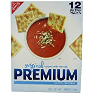 Nabisco Original Premium Saltine Crackers Topped with Sea Salt, 3 Pound
