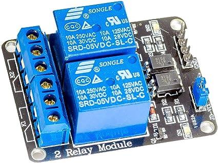 250 V AC modello SRD-05VDC-SL-C relay Modulo relè 1 canale 5V DC