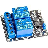 2canales de relé Relay Módulo 5V para Arduino