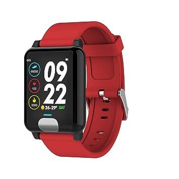 ZMJY Salud y Fitness SmartWatch con frecuencia cardíaca, 6 ...