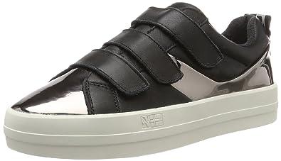 Napapijri Footwear Dahlia, Baskets Femme, (Black N00), 38 EU