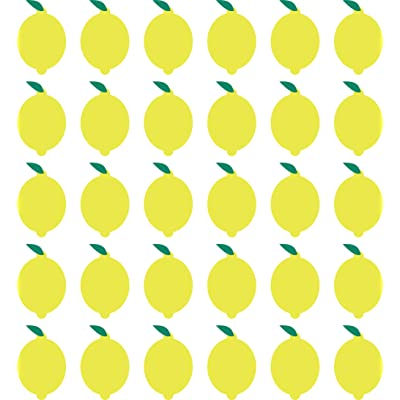 """Kinacle Lemons, Removable Vinyl Wall and Nursery Decals, 30 Pack (3.7\""""W x 5.5\""""H): Baby [5Bkhe0201046]"""