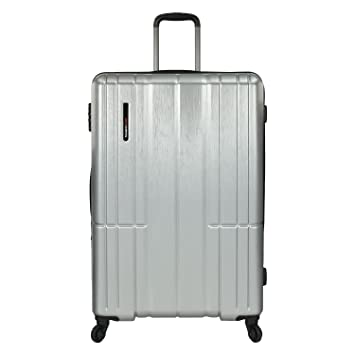 72afc40d8 Traveler's Choice Wellington Polycarbonate Durable Hardshell Expandable 30- inch Large Checked Spinner Luggage Suitcase with