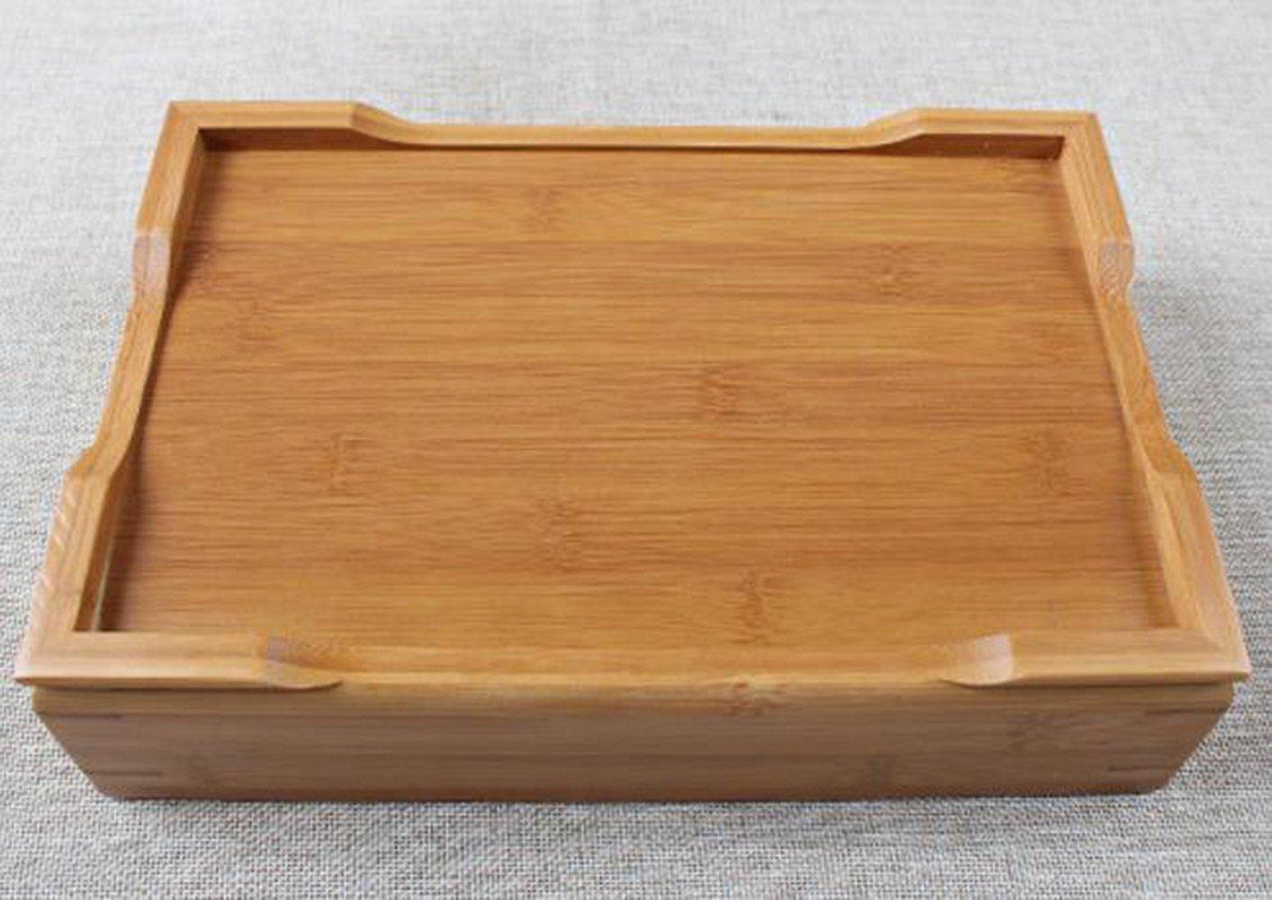 Hoobar Reservoir Type Bamboo Tea Tray - Chinese Kungfu Tea Table Serving Tray Box for Kungfu Tea Set by JKCOM (Image #6)