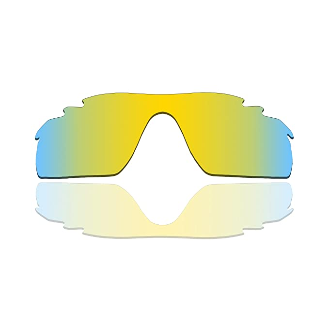 a3daf6dc35 Polarized Replacement Lenses for Oakley RadarLock Path Vented - 24K Gold  Mirrored Coating