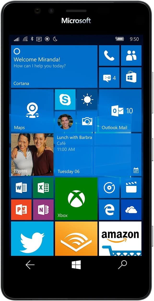 Microsoft Lumia 950 XL Negro 32GB 4G: Amazon.es: Electrónica