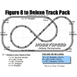 Figure 8 to a Deluxe Track Pack ADD-ON Pack o Gauge