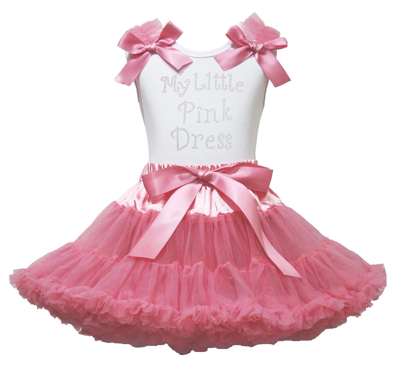 My Little Vestido Rosa Corazones de Camisa Blanca con Polvo Rosa ...