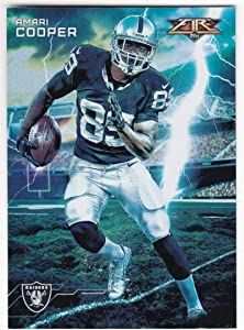 Amari Cooper 2015 Topps Fire Forces Of Nature #FON-AC NM-MT Raiders Football NFL