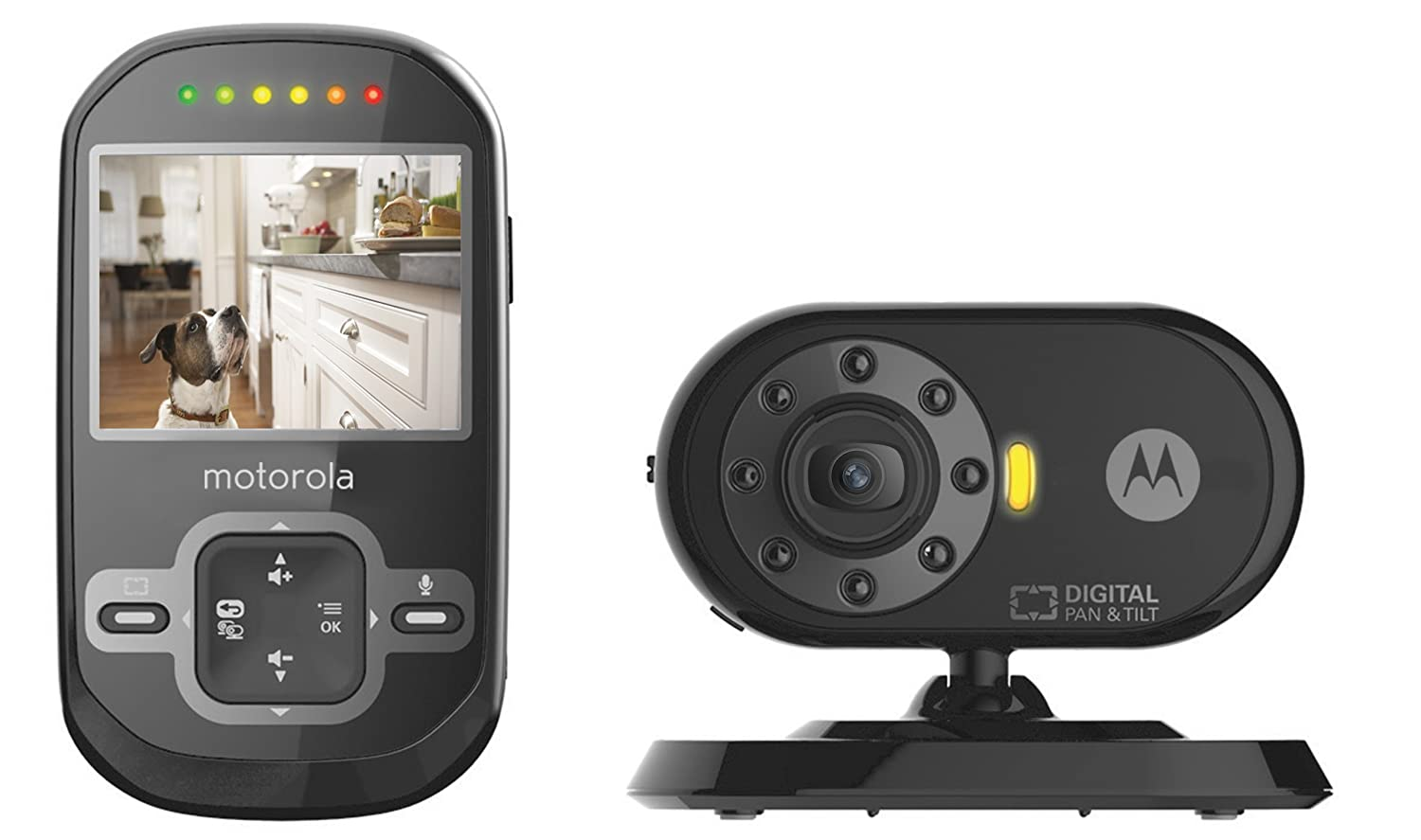 Motorola Scout600 Remote Wireless Pet Monitor with 2.4-Inch Color LCD Screen, Infrared Night Vision and Remote Camera Pan Exclusive Group
