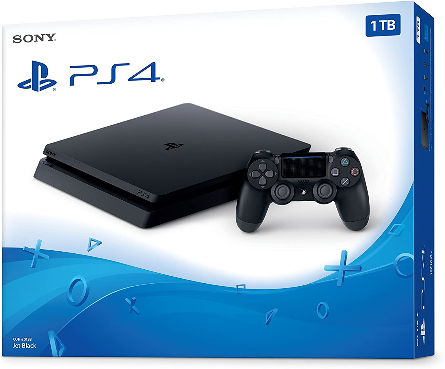 Amazon.com: PlayStation 4 Slim 1TB Console - Black (Renewed ...