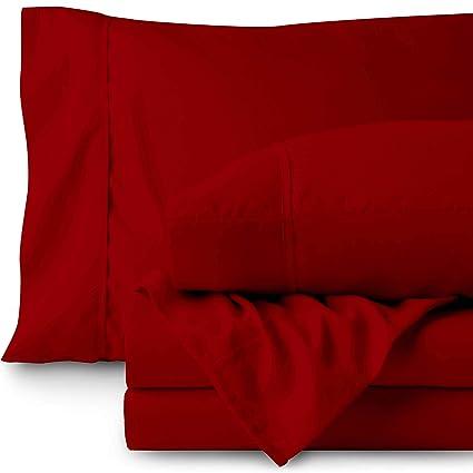 Amazon.com: Bare Home Twin XL Sheet Set   College Dorm Size