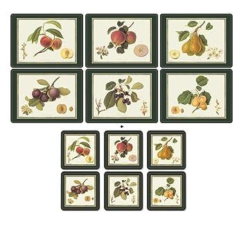 Ensemble de table Pimpernel de la collection Fruits, comprenant 6 ...
