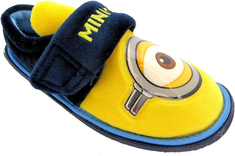 MINIONS Kids Basic Eye Textile Slippers