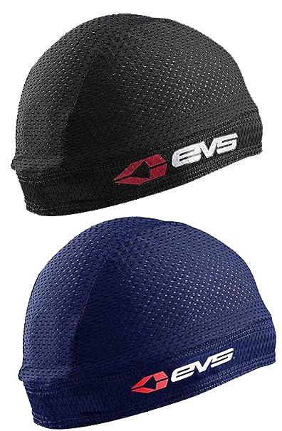 2ac77ea9693 Amazon.com  EVS Sports Sweat Beanie 2-Pack  1-Black   1-Navy ...