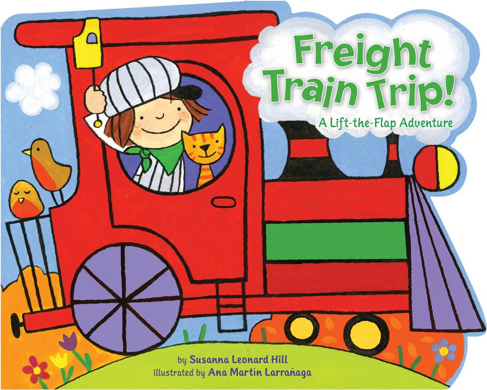 amazon com freight train trip a lift the flap adventure