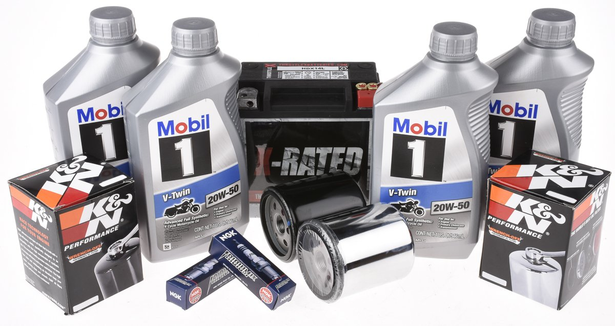 Amazon.com: 14L-TU1 Harley Davidson Replacement Battery and Tune Up Kit: Automotive
