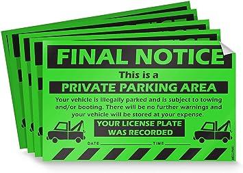 Truck Parking Only at Left Parking Parking Sign Vinyl Sticker Decal 8