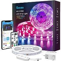 Govee Smart LED Strip, WiFi RGB LED Strip 5m, bestuurbaar via app en afstandsbediening, muzieksynchronisatie, werken met…