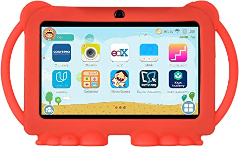 Xgody T702 7 Pulgadas HD Kids Tablet PC Quad Core Android 8.1 1GB ...