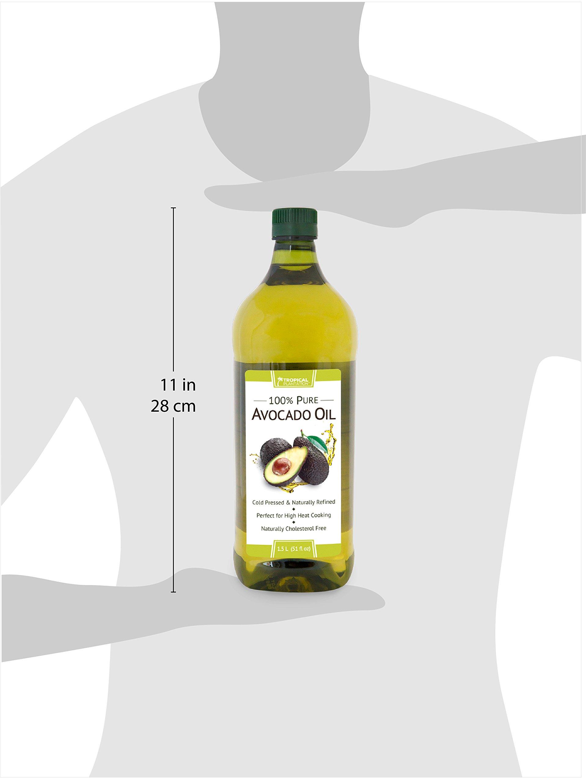 Tropical Plantation 51oz 100% Pure Avocado Cooking Oil by Lily of the Desert by Lily Of The Desert (Image #3)