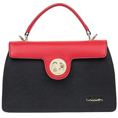 4a71775106c FIGESTIN Women Genuine Leather Designer Handbags Purse Tote Top Handle  shoulder Bags