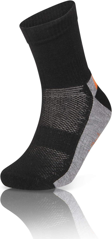 Sock Stack Lot de 12 paires de chaussettes de sport pour femme avec semelle rembourr/ée en coton l/éger anti-ampoules Pointure 37 /à 40