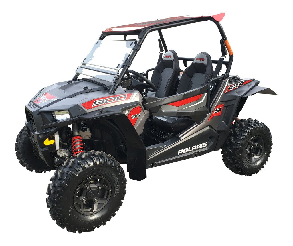MudBusters HDPE fender extensions for Polaris RZR-S 900, RZR-S 1000, & RZR-4 900